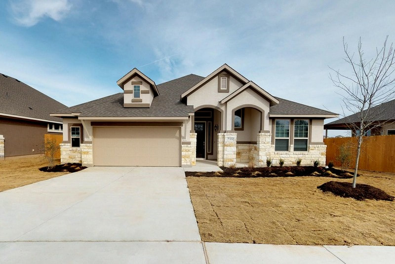 Chesmar Homes | Parker Floor Plan | SaddleCreek