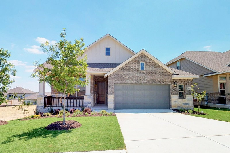 Chesmar Homes | Landry Floor Plan | SaddleCreek
