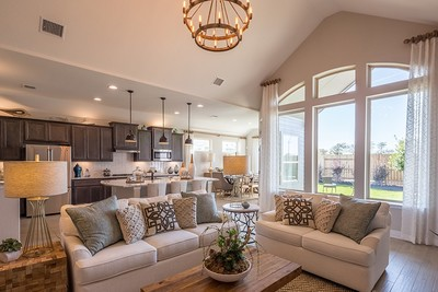 SaddleCreek | New Homes Georgetown - Chesmar Homes | Model Home Interior