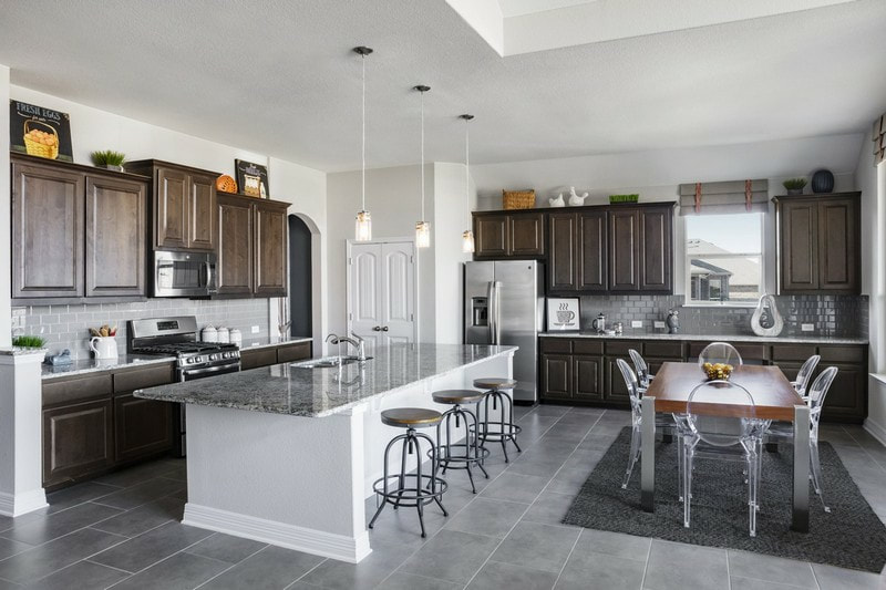 Chesmar Homes | Kitchen & Living | SaddleCreek